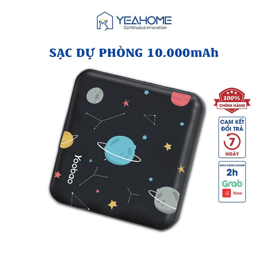 Pin sạc dự phòng Yoobao M4 mini 10000mAh Pin Li-Polymer 2 đầu vào 2 đầu ra cho điện thoại máy tính bảng