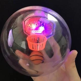 Electronic Basketball Game Anti Stress Flashing LED Lights Toys Shake Basketball
