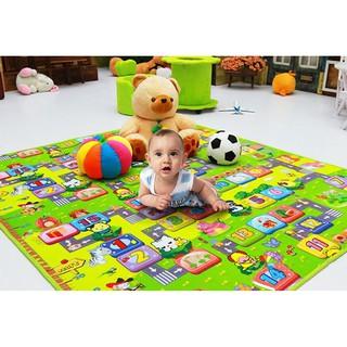 Thảm xốp chơi 2 mặt cho bé KT 1,8 x 2m