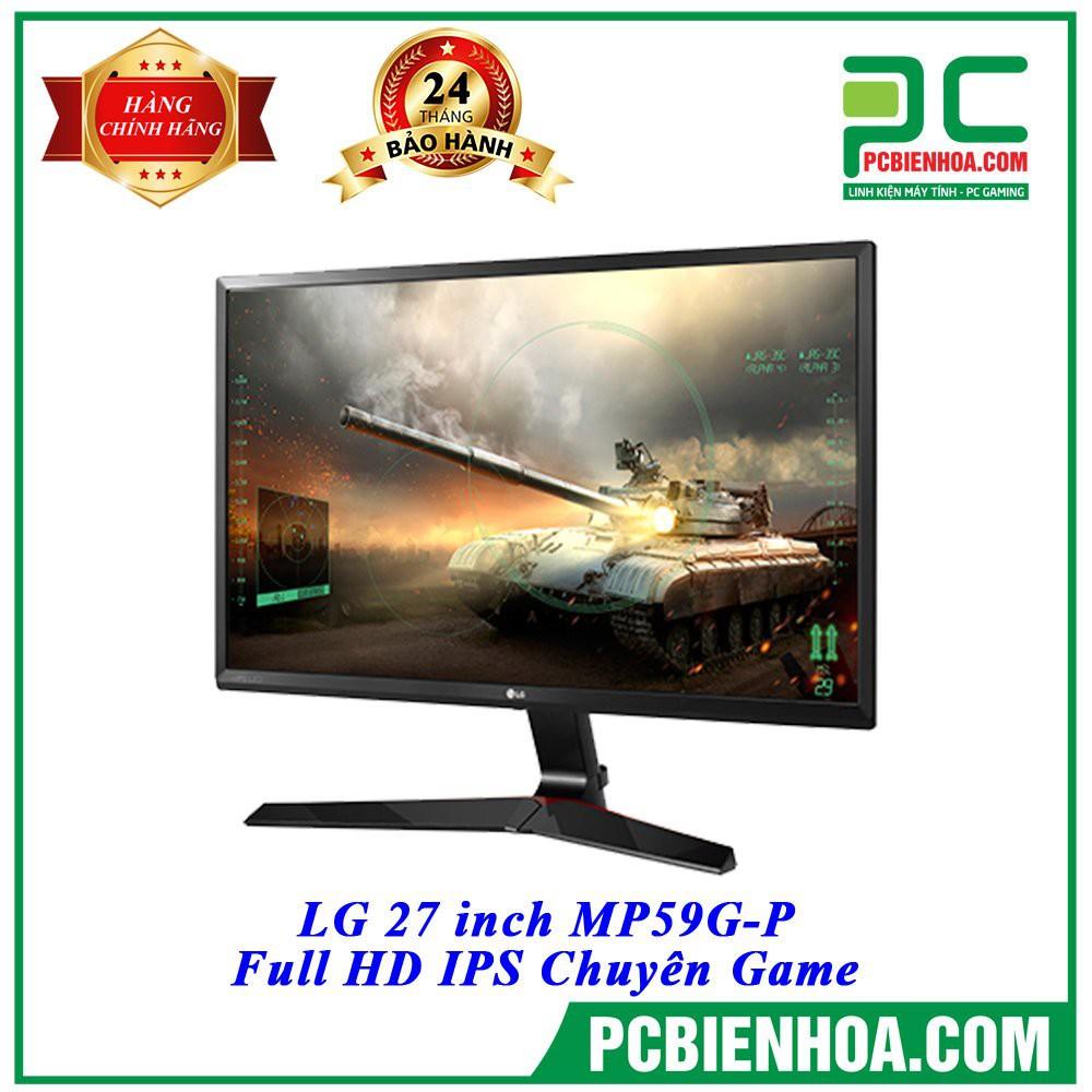 [Mã ELLAPDESK giảm 5% đơn 3TR] Màn hình LG 27MP59G-P Full HD IPS Chuyên Game