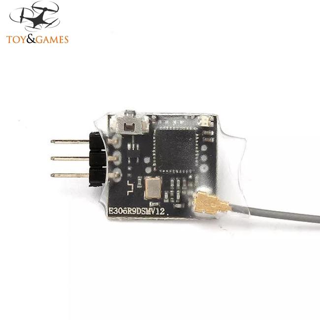 Radiolink R6DSM 2.4G 10CH DSSS FHSS Receiver for AT9 AT9S AT10 AT10Ⅱ PPM SBUS Output