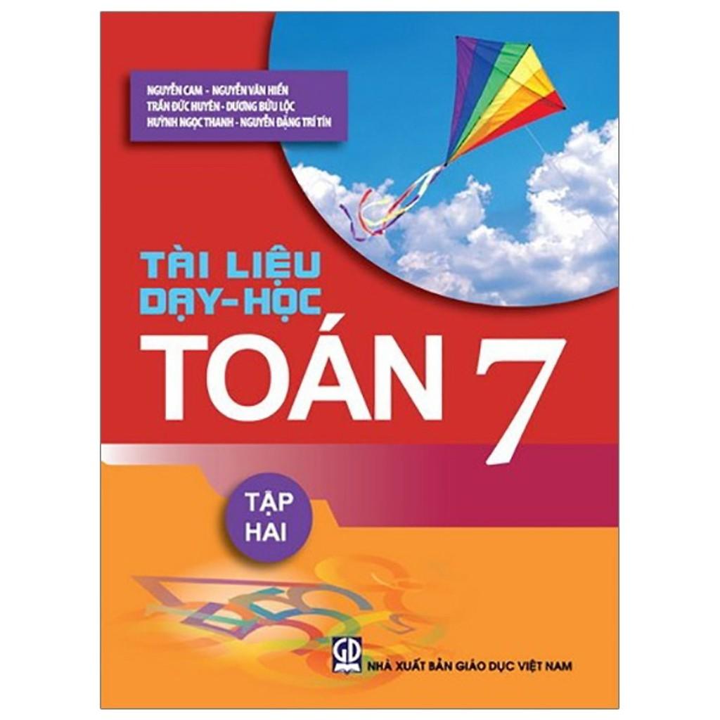 Sách - Tài liệu dạy - học Toán 7 tập 2