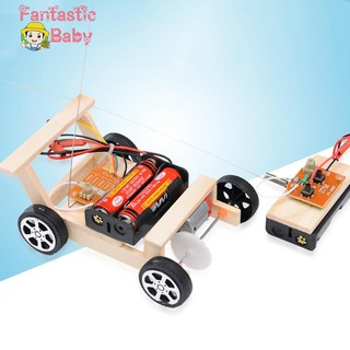 BABY Kids Creative DIY Remote Control Vehicle Car Model Science Experiment Toys