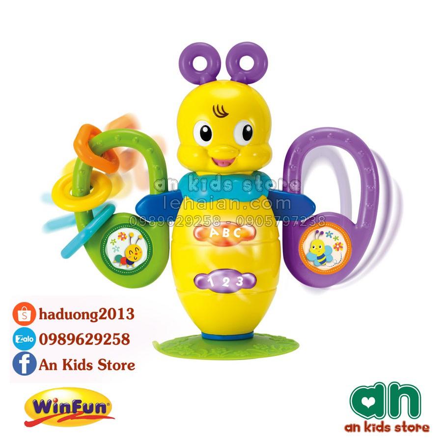 Chú ong xinh có đèn sáng biết hát Winfun 0611 - Hàng chính hãng