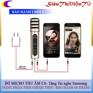 MICRO THU ÂM C6 LIVE STREAM THOẢI MÃI thumbnail