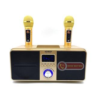 [Loại 1] Loa Karaoke Bluetooth SD-309, Kèm 2 mirco không dây