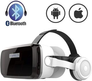 Kính thực tế ảo 3D Vr Shinecon G04BS 2021 Bluelens tai nghe bluetooth cho điện thoại 6.7inch