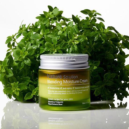 Kem dưỡng ẩm làn da The Plant Base Nature Solution Blending Moisture Cream  50ml | Shopee Việt Nam