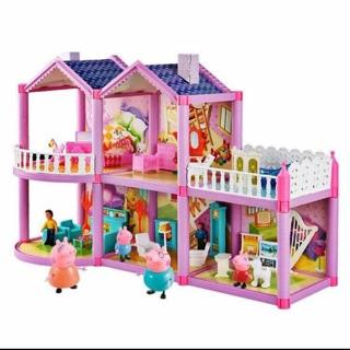 [Nhập 1212TOY giảm 10%]Bộ đồ chơi ngôi nhà heo Peppa pig