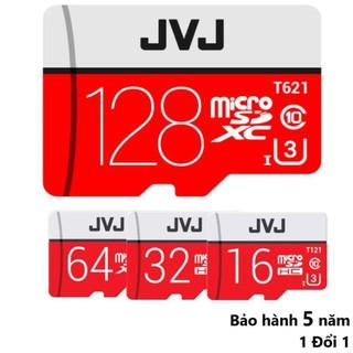 Thẻ nhớ 16/32/64/128 Gb JVJ Pro U3 Class 10 – chuyên dụng cho CAMERA tốc độ cao – Bh 5 năm