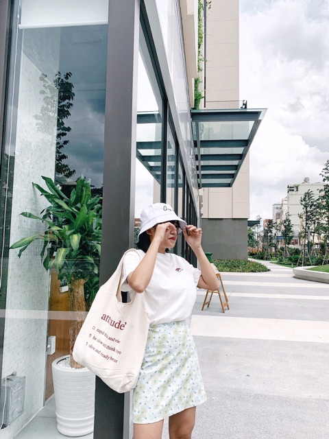 Túi đeo vai attitude' phong cách hàn quốc