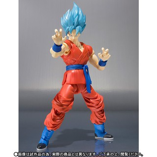 Mô hình SHF Son Goku ver Super Saiyan Blue – Dragon Ball