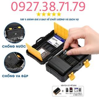 (CÓ SẴN) Hộp đựng thẻ nhớ và pin máy ảnh – Chống nước , chống va đập – Bảo vệ thẻ nhớ và pin máy ảnh tuyệt đối