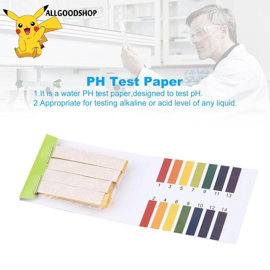 Giấy Thử Độ Ph 1-14 pH Tiện Dụng