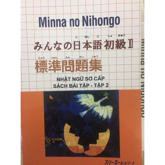 Sách - combo 9 cuốn Minna no nihongo