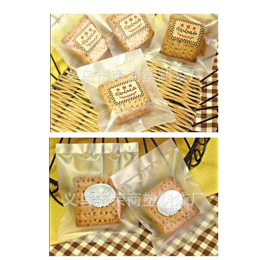 Set 100 Túi Đựng Bánh/Kẹo - Kẹo Mút Loại Mờ
