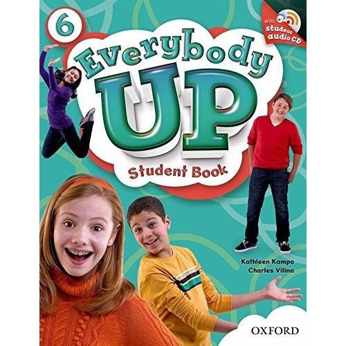 Sách học tiếng Anh Everybody Up 6 Student Book kèm CD luyện nghe