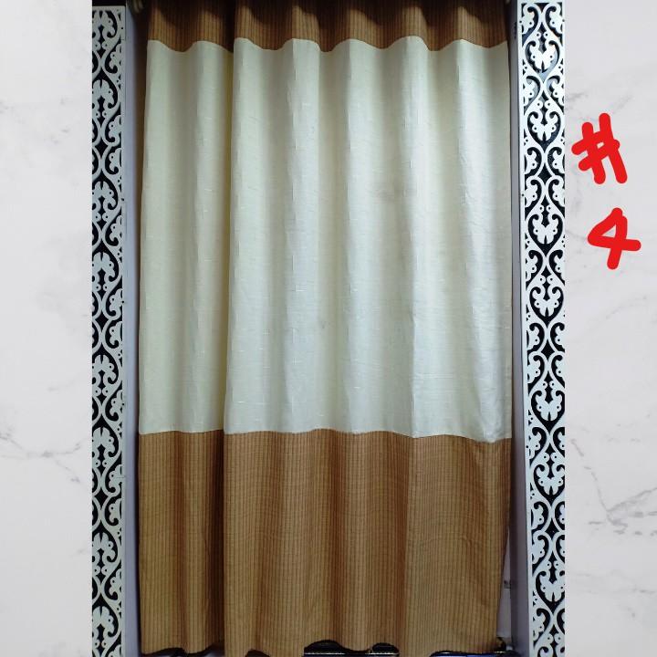 [CÒN ÍT XẢ NỐT] Rèm cửa❤️FREESHIP❤️ Rèm cửa vải thô đũi phong cách hiện đại