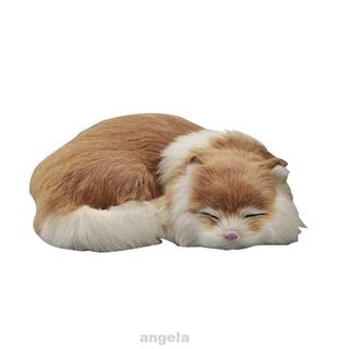 Mô Hình Mèo Đang Ngủ Xinh Xắn Dùng Để Trang Trí Nội Thất