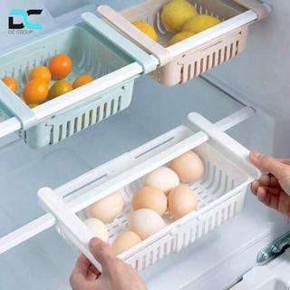 Khay đựng đồ tủ lạnh tiện ích Rổ đựng đồ tủ lạnh thông minh
