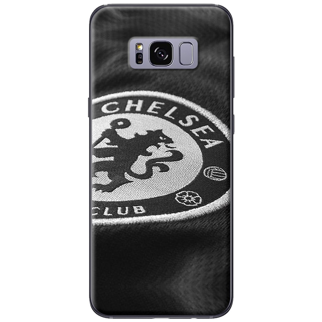 Ốp lưng nhựa dẻo Samsung S8/S8 plus Chelsea nên đen