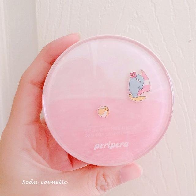 [MỚI] #Limited Phấn nước Peripera Ink Pink Cushion Peri Kiki Summer Collection