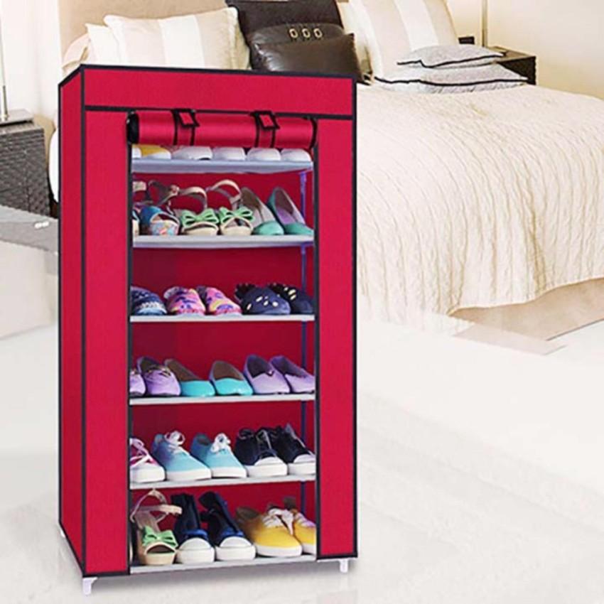 Tủ giày  vải  7 tầng 6 ngăn (Màu tùy chọn) Hàng Mới