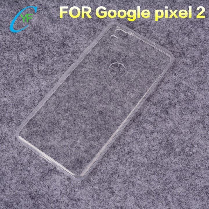 Ốp lưng Google Pixel 2 dẻo trong suốt