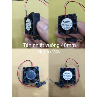 Tản nhiệt Nidec 24v 40x40x15 (mm) mới 95% thumbnail