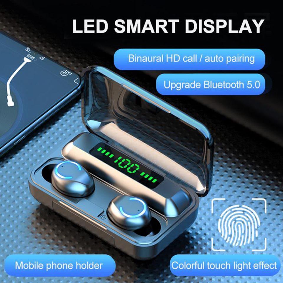 Tai Nghe Bluetooth Amoi F9 Pro Max Quốc Tế - Tiếng anh - BLT 5.0 - Hàng chuẩn