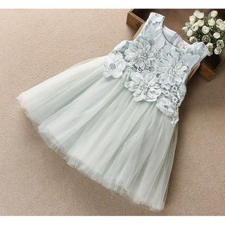 Váy ngực phối hoa ren