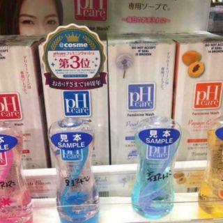 Dung dịch vệ sinh phụ nữ pH care Nhật Bản 4