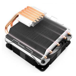 ☑ Quạt tản nhiệt CPU giá tốt T500 Led RGB đảo màu tự động, 5 ống đồng tản nhiệt giá tốt