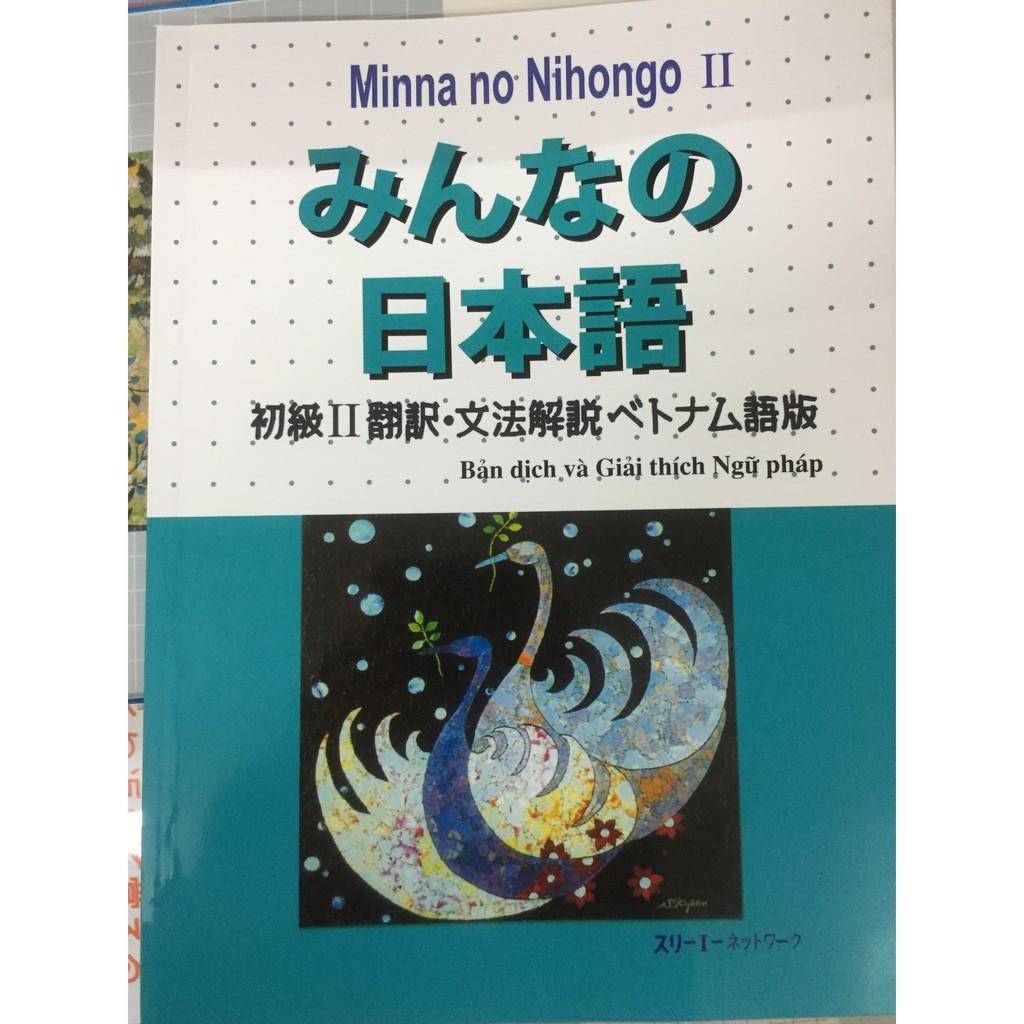 Sách - Minnano nihongo II – Bản dịch và giải thích ngữ pháp Tiếng Việt Tập 2