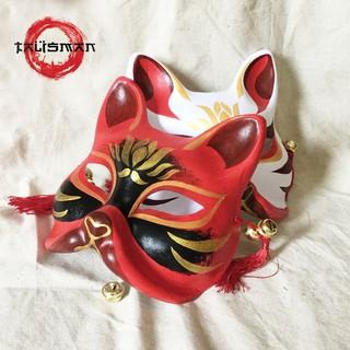 [ĐB] Mặt nạ cáo vẽ_29 (Mask fox-cosplay)