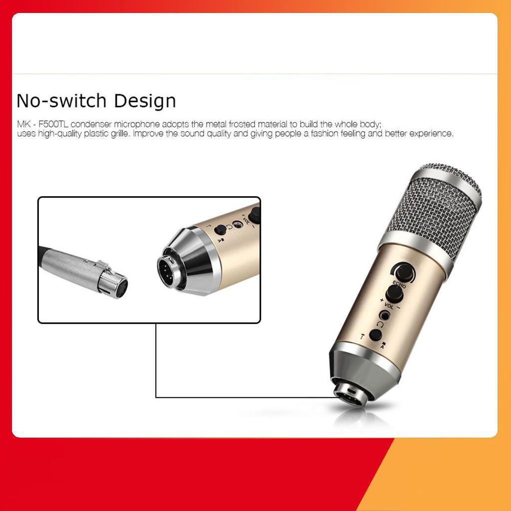 [HOT]  Microphone Thu Âm Studio MK-F500TL Hàng Chính Hãng
