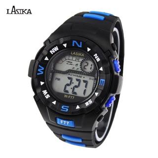 Đồng hồ điện tử trẻ em dây caosu LASIKA F77