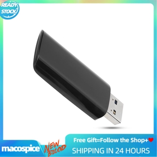 Macospice Wireless Network Card Dual Band 2.4g/5G USB3.0 Wifi Receiver Adapter RTL8812B UH1300V