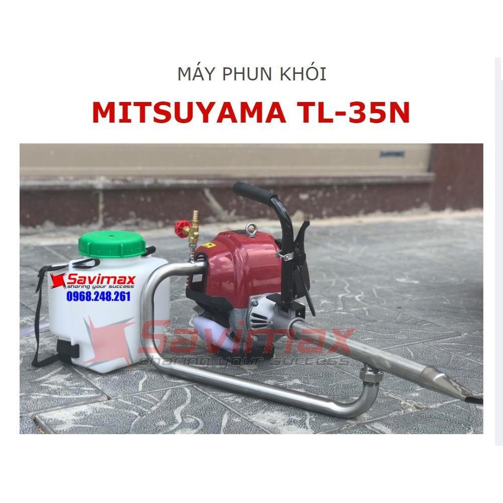 Máy phun khói diệt côn trùng Mitsuyama TL-35N cho vườn rau sạch tại Hòa Bình
