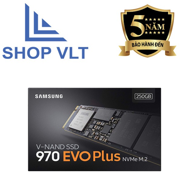 SSD Samsung 970 EVO Plus 250GB NVMe M.2 - Hàng chính hãng