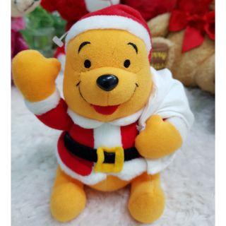 Gấu bông Pooh Noel