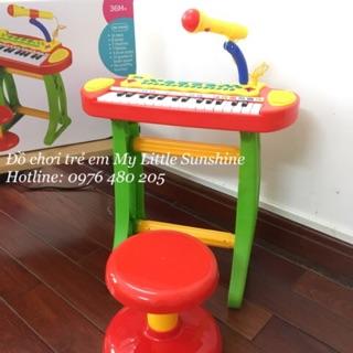 Đàn piano có micro cho bé M02 green