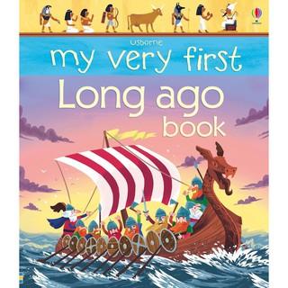 Sách khám phá cổ đại My Very First Long Ago book Usborne thumbnail