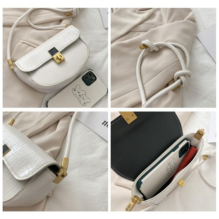 Túi xách nữ đeo chéo LOKADO da mền xinh đẹp đi chơi HY136
