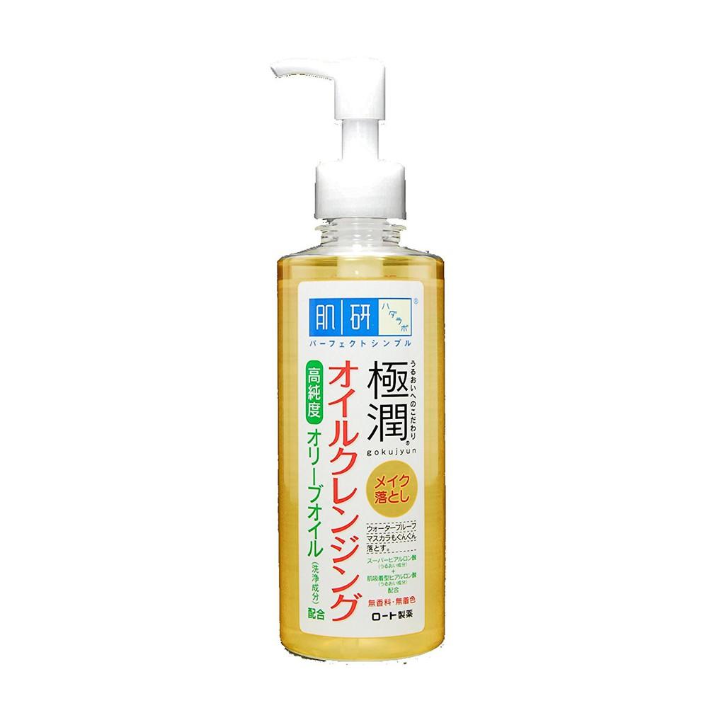 [Có sẵn] Dầu tẩy trang Hada Labo Cleaning Oils - 200ml - Xách tay Nhật
