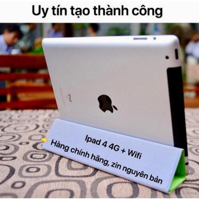 Máy tính bảng ipad 4 3G/4G + Wifi Trắng + Đen.New98-99% zin100%