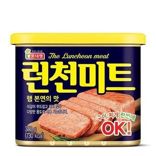 Thịt hộp Lotte Lunchoen Meat Hàn Quốc 340g