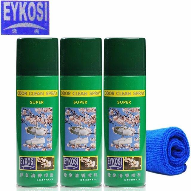 Xịt khử mùi lưu thơm giày 225ml Eykosi