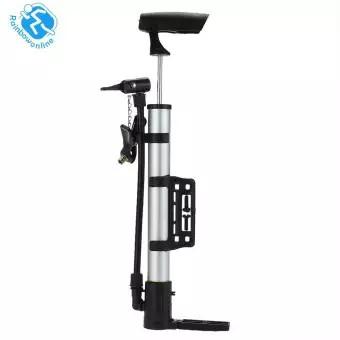 Mini xách tay nhôm trọng lượng nhẹ hợp kim MTB xe đạp Bike Tire Air Pump (bạc)-168-SPPL