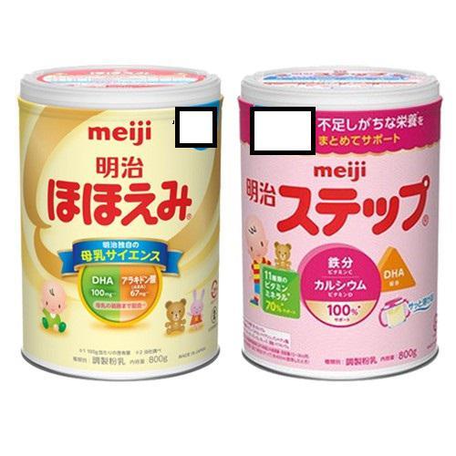 Sữa Meiji 0-1 (800g) và Meiji 1-3 (800g) nội địa nhật